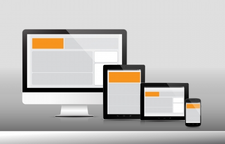 responsive: Technology Device Responsive, Web Icon