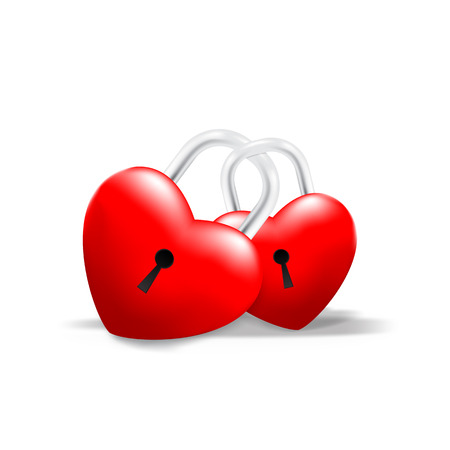 Grossy Locked together Heart