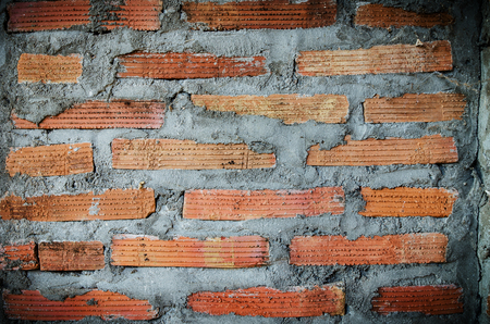 Background of red brown brickwall texture