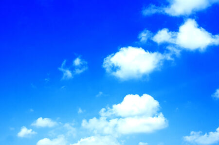 Blue Sky and cloud, background Stock Photo