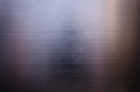 Stainless steel metal texture background Stock Photo