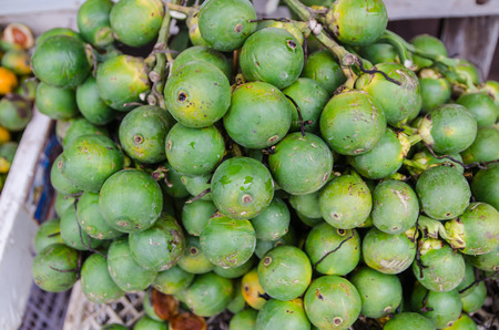 Betel nut in the market photo