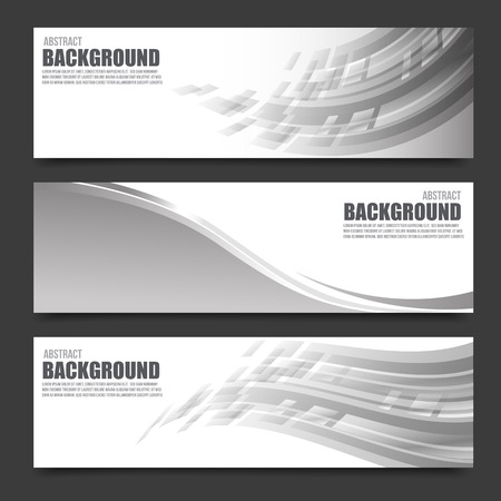Abstract banner bright and light background vector illustration