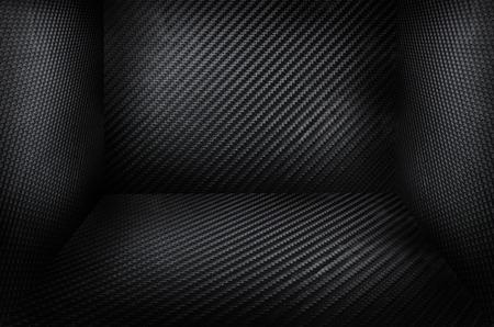 Carbon fiber black background texture, carbon room