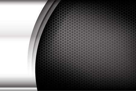 Acier métallisé et nid d'abeille élément fond texture vecteur illustration Banque d'images - 38463157