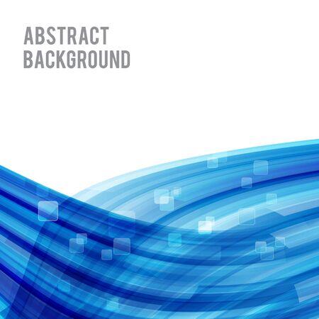 curve: Abstract background bright and light curve blue vector illustration