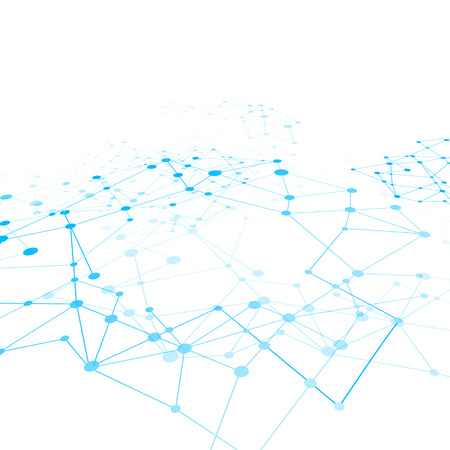 Abstract background network connect concept  vector illustration