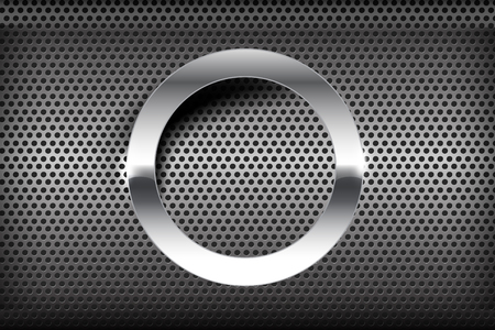 brushed aluminum: Chrome black and grey background texture vector illustration eps10 Illustration