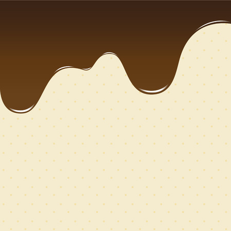 cake background: abstract background sweet brown chocolate, cake background vector illustration