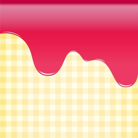 cake background: abstract background sweet strawberry pink, cake background vector illustration Illustration