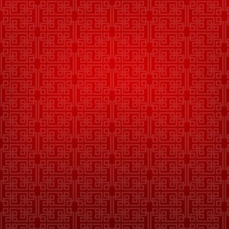 Estratto cinese rosso sfondo illustrazione Archivio Fotografico - 50602130