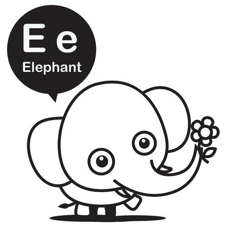 P Panda Tier Cartoon Und Alphabet Für Kinder Zum Lernen Und ...