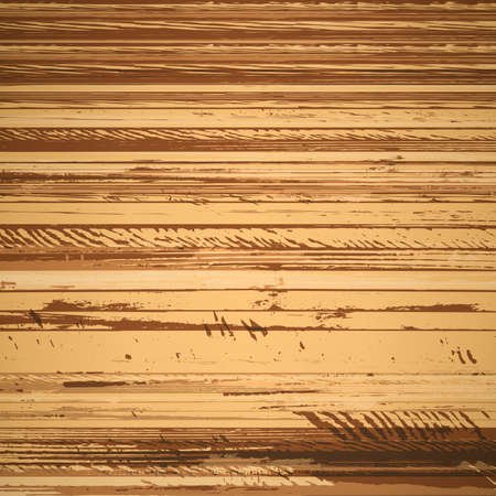 traced: Traced brown wood grain abstract baclkground vector illustration Illustration