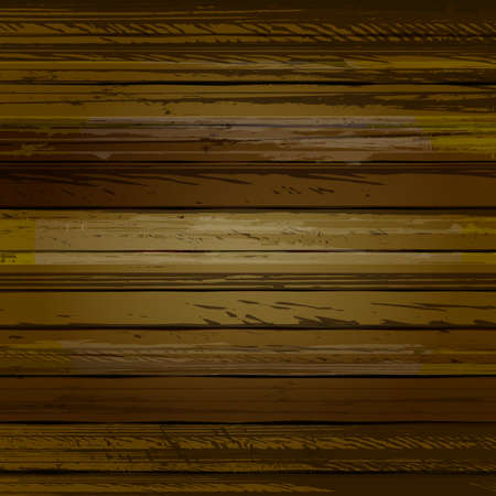 brown wood: Traced brown wood grain abstract baclkground vector illustration Illustration