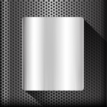 polished: Polished steel texture on hold metal abstract background vector illustration
