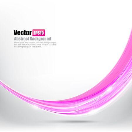 Abstract background Ligth pink curve and wave element vector illustration Illustration