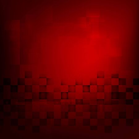 Abstract background red with basic geometry element vector illustration eps10 Illustration