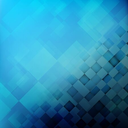 Abstract background blue with basic geometry element vector illustration eps10