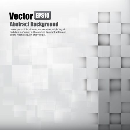 Abstract background light grey with basic geometry element vector illustration eps10