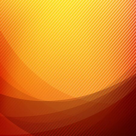 Orange Abstract background geometry shine and layer element vector illustration eps10