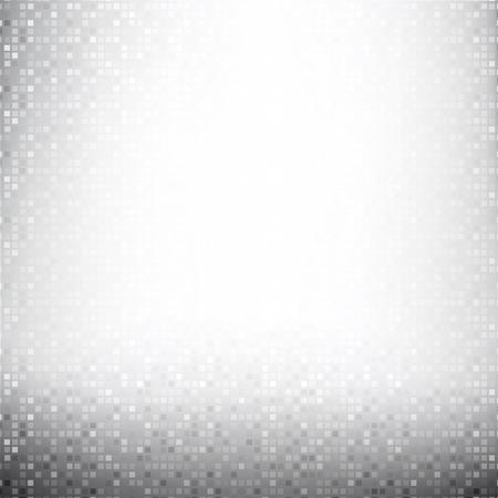 Grey Brick pixel mosaic abstract background vector illustration eps10