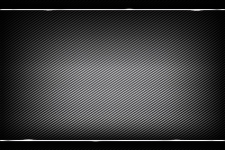 Achtergrond donker en zwarte carbon fiber vectorillustratie eps10
