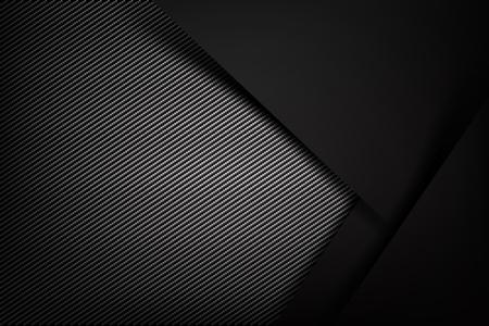 Resumen de antecedentes de carbono oscuro y negro ilustración de fibra eps10 Ilustración de vector