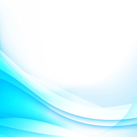 curve: Abstract background light blue curve and wave element vector illustration Illustration