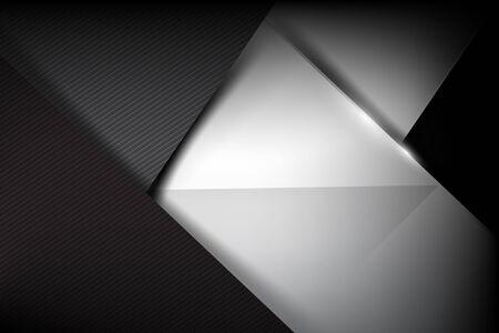 dark fiber: Abstract background dark and black carbon fiber. Illustration