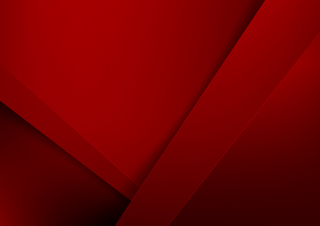 Abstract background basic geometry red layered and overlap and shadow element  vector illustration eps10 Illustration