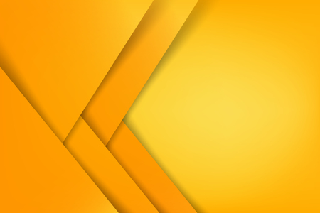 Abstract background basic geometry yellow layered and overlap and shadow element  vector illustration eps10 Illustration