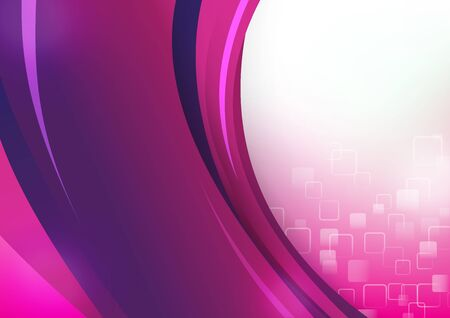 Abstra background purple and pink curve and layed element vector illustration eps 10