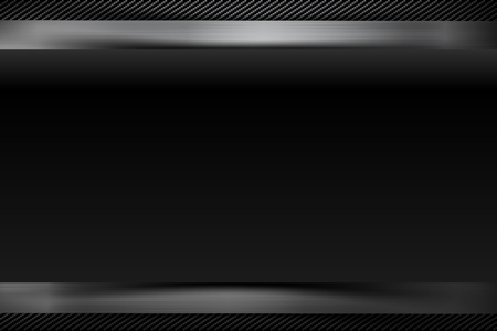 Abstract background dark and black carbon fiber vector illustration eps10 Stock Photo