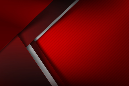 Abstract background red dark and black overlap color vector illustration eps10