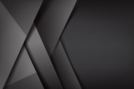 Dunkle und schwarze Deckungsfarbvektorillustration des abstrakten Hintergrundes