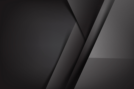 Abstract background dark and black overlap color vector illustration