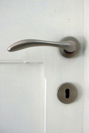 detail van een deurhendel