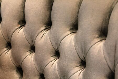 cushioned: plush velvet sofa - full image back ground