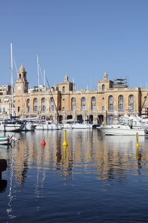 The Maltese Maritime Museum in Cottonera, Malta photo