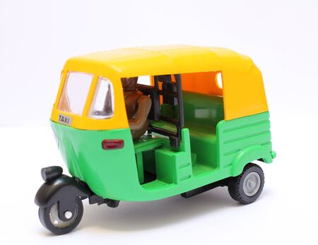 tuktuk: toy tuktuk, traditional transportation in Asia