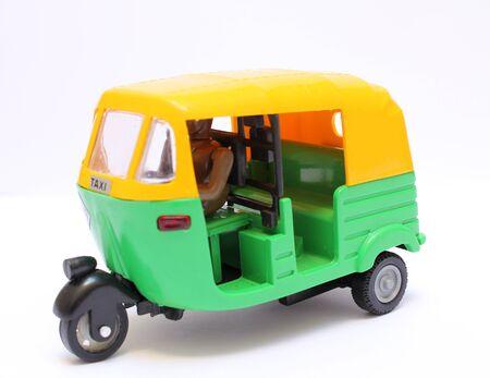 toy tuktuk, traditional transportation in Asia