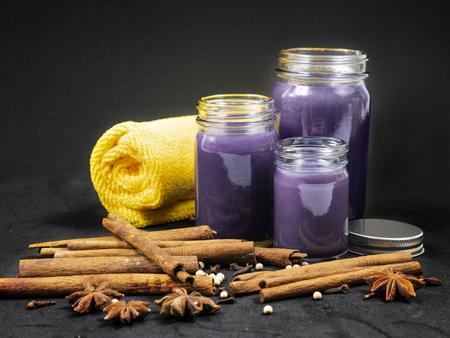 Thai purple/violet balm Banco de Imagens