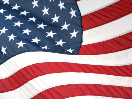 distinguishing: American Flag Stock Photo
