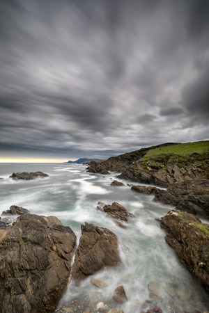 The coast of West Ireland Stock Photo