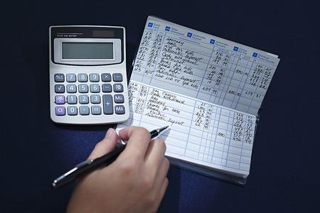 checking register