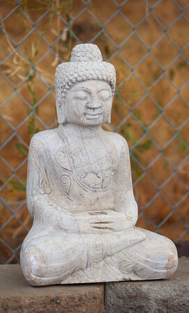 Antique Tibetan style Shakyamuni Buddha statue. Gautama Buddha, also known as Siddhartha Gautama, Shakyamuni, or simply the Buddha, was a sage on whose teachings Buddhism was founded.