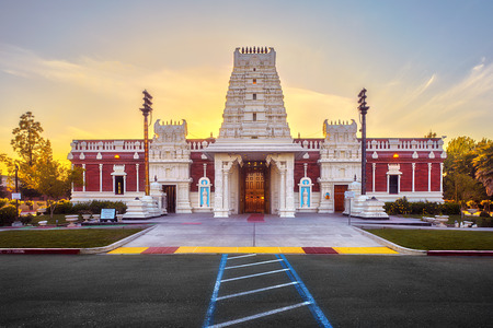 Shiva Vishnu temple in Livermore. The Hindu Trinity consists of Brahma the Creator, Vishnu the Sustainer and Shiva the Destroyer. As in a human being, these three can be considered to be the Mind, Soul and Spirit of the Universe respectively