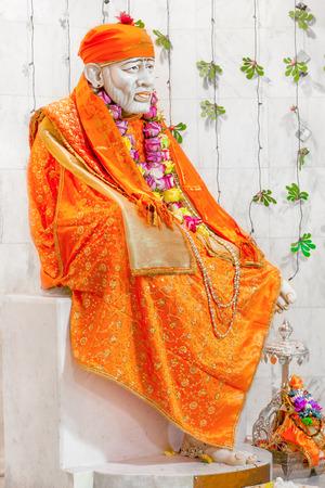 ヒンズー教の寺院のヒンズー教の神。