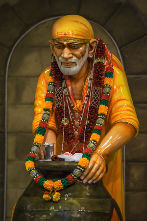 Sai Baba of Shirdi was an Indian spiritual master who was and is regarded by his devotees as a saint, fakir, and satguru. On October 15, 1918, before his death, he said, Do not think I am dead and gone. You will hear me from my Samadhi and I shall guide