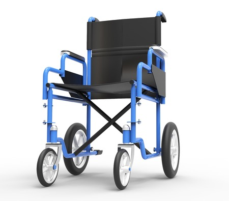 white back ground: wheelchair isolated on a white back ground.